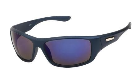 20-263 Navy with Blue Lens