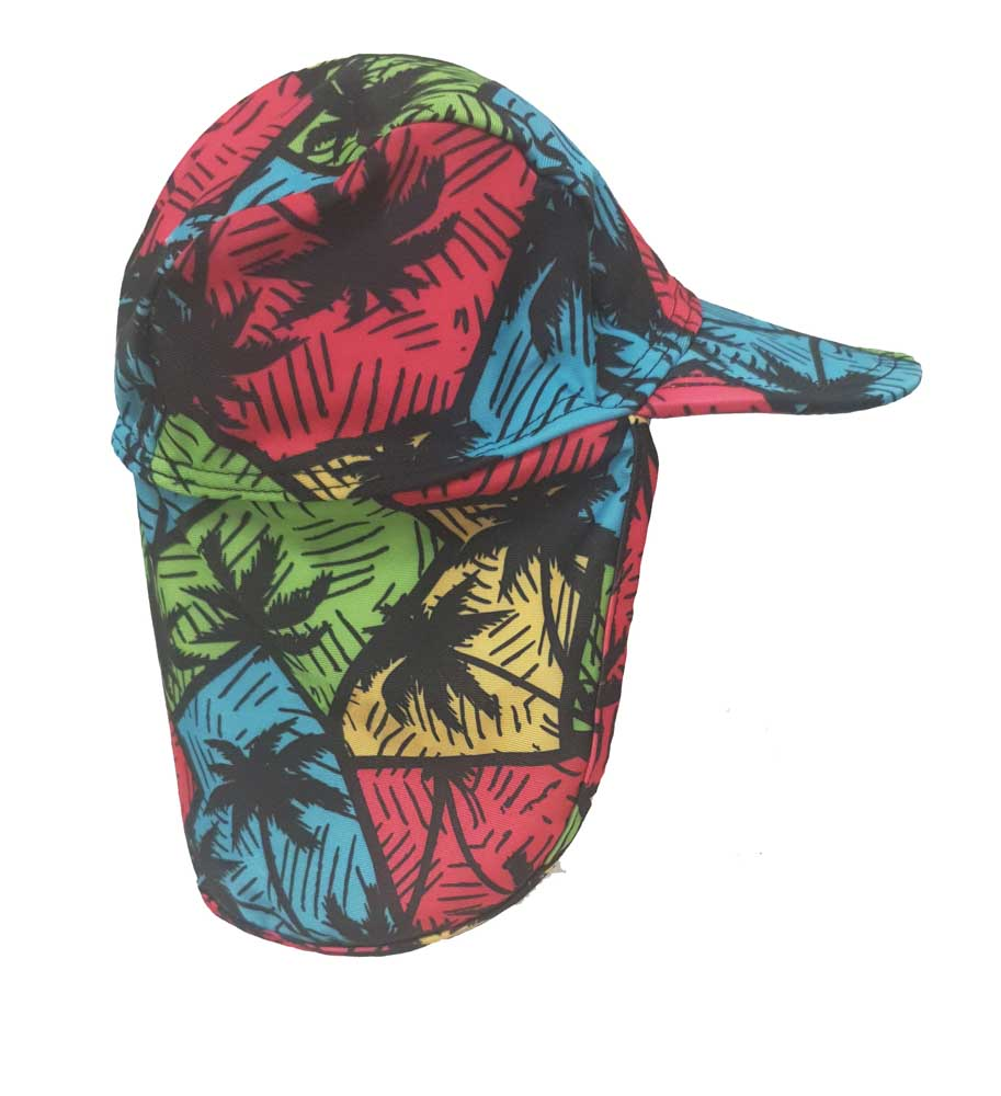 KhB1024-07 PALM TREES(Legionnaires, Swim Cap)