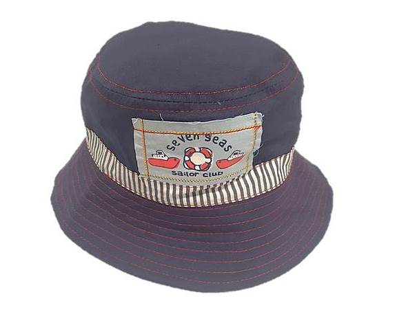 zKB206-NAVY seven seas sailor club estar hat