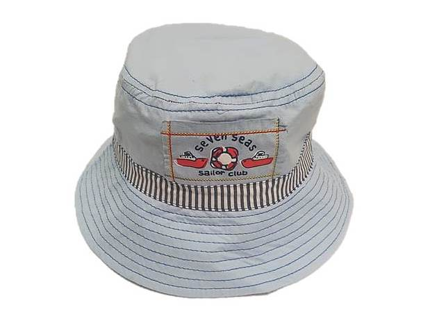 zKB206-SKYBLUE seven seas sailor club estar hat