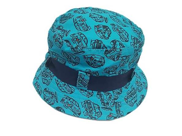 zKB208 Aqua/navy Boys Car Estar Hat