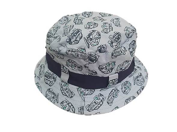 zKB208 Sky Blue Boys Car Estar Hat
