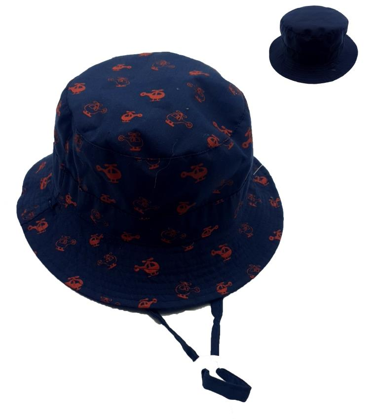 KB308 Boys Helicopter reversible Hat