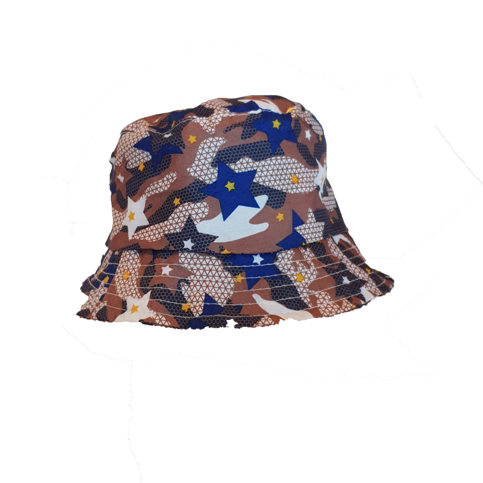 KD2003 coffee Camo Bucket Hat