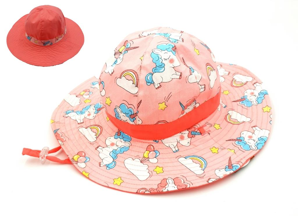 KG311 Girls Unicorn Reversible Hat