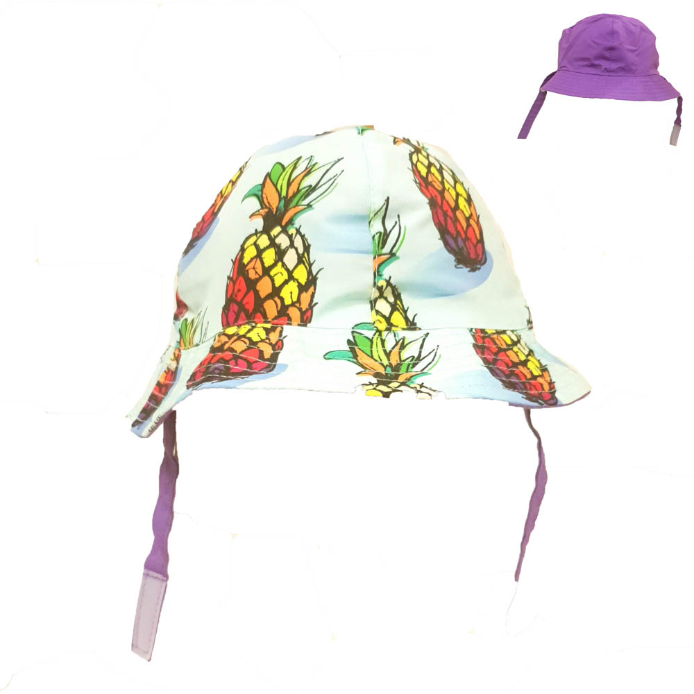 KHB1022-05 PINEAPPLES (4 Panel Crown, Cotton)