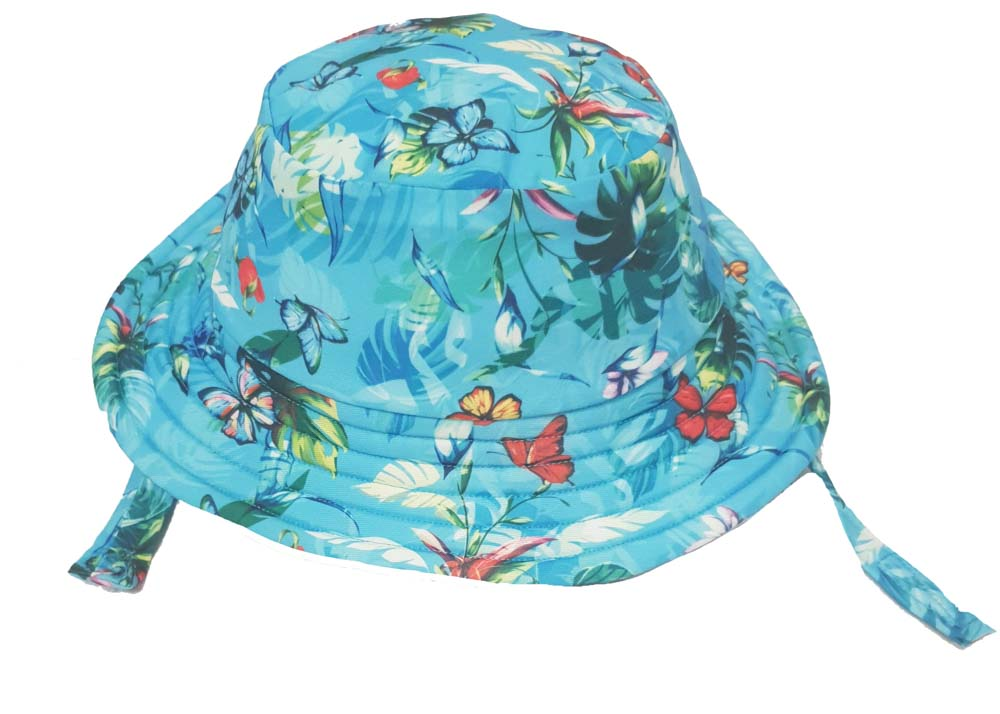 KHB1025-01 BUTTERFLIES (Swim Bucket Hat)