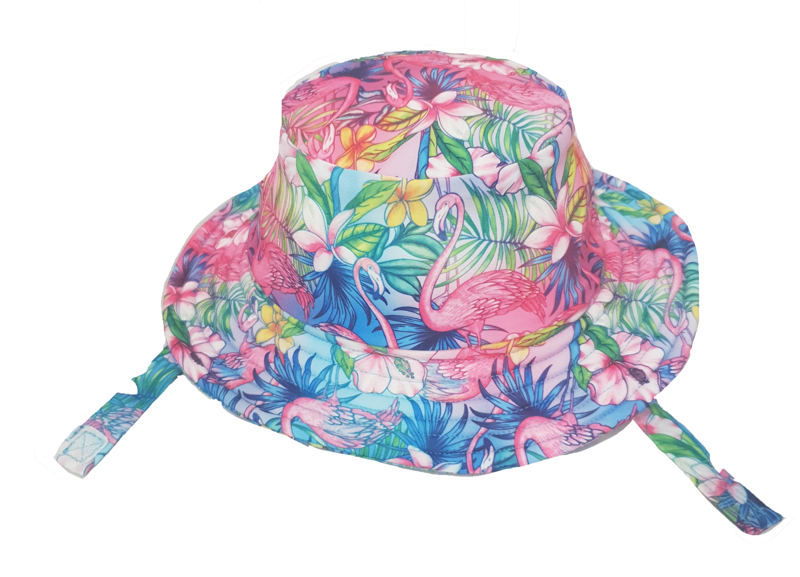 KHB1025-02 Pink Flamingo Bucket Hat
