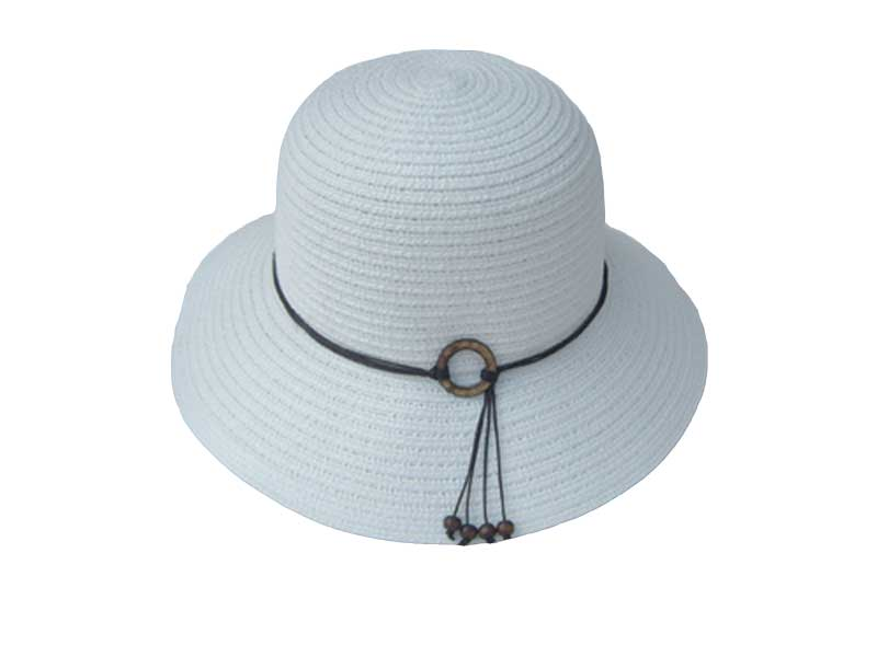L00044-White Bucket Brim *Available January*